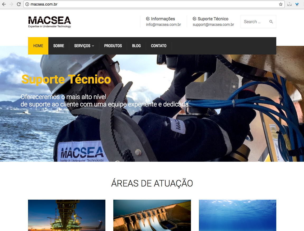 novo site macsea home