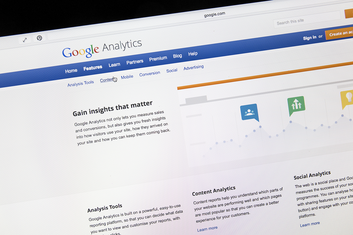 Novo website em WordPress - novo site akio google analytics